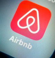 Airbnbs app.  Gorm Kallestad / TT NYHETSBYRÅN