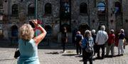 Turister i Molenbeek FRANCOIS LENOIR / TT NYHETSBYRÅN