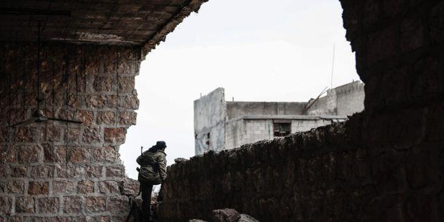 Arkivbild, Aleppo i Syrien. SAMEER AL-DOUMY / AFP