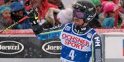 Matts Olsson i Val-d'Isère. Marco Tacca / TT NYHETSBYRÅN