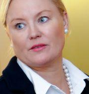 Advokat Jessica Sandberg företräder de anhöriga till två av dödsoffren. Christine Olsson/TT / TT NYHETSBYRÅN