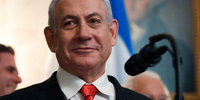 Benjamin Netanyahu. Susan Walsh / TT NYHETSBYRÅN/ NTB Scanpix