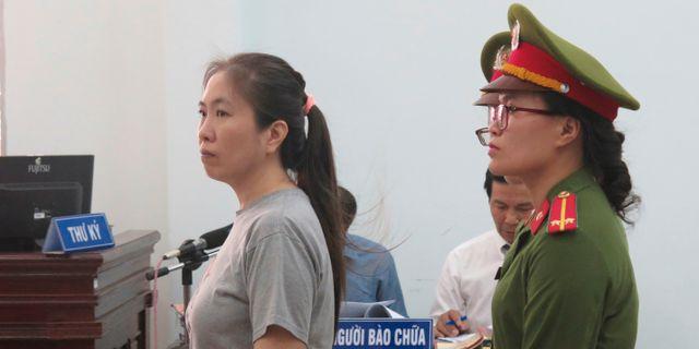 """""""Mother Mushroom"""" under rättegången i juni 2017. Tran Van Minh / TT NYHETSBYRÅN/ NTB Scanpix"""
