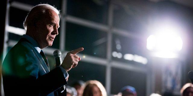 Joe Biden. Andrew Harnik / TT NYHETSBYRÅN
