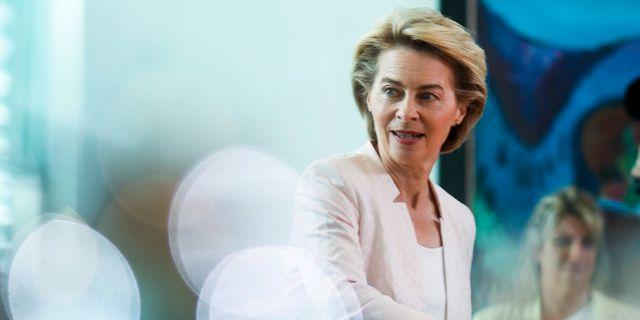 Ursula von der Leyen. Markus Schreiber / TT NYHETSBYRÅN/ NTB Scanpix