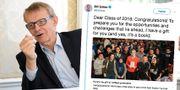 Hans Roslings bok har inspirerat Bill Gates. TT/Twitter