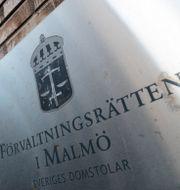 Förvaltningsrätten Malmö Johan Nilsson/TT