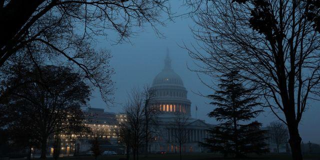 Capitol Hill.  LOREN ELLIOTT / TT NYHETSBYRÅN