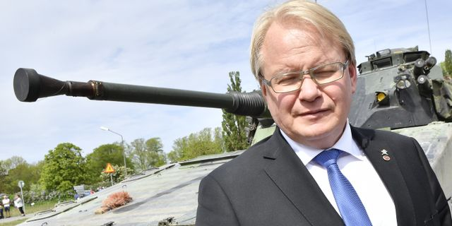 Peter Hultqvist. Jonas Ekströmer/TT / TT NYHETSBYRÅN