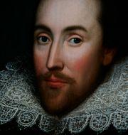 William Shakespeare. LEFTERIS PITARAKIS / TT NYHETSBYRÅN