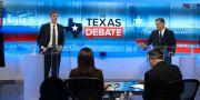 Beto O'Rourke och Ted Cruz. Tom Reel / TT NYHETSBYRÅN/ NTB Scanpix