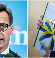 Moderaternas ekonomisk-politiske talesperson Ulf Kristersson/Regeringens budget TT/TT
