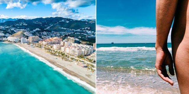 Almuñécar ligger en timme väster om Málaga på spanska solkusten. Shutterstock