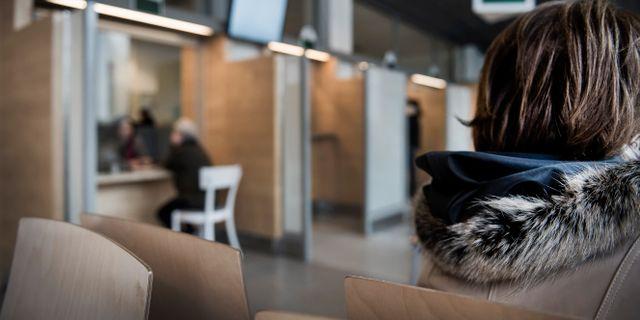 Arkivbild: Asylprocess på Migrationsverket i Solna. Väntsal för asylsökande Marcus Ericsson/TT / TT NYHETSBYRÅN