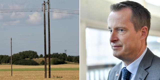 Energiminister Anders Ygeman (S). TT