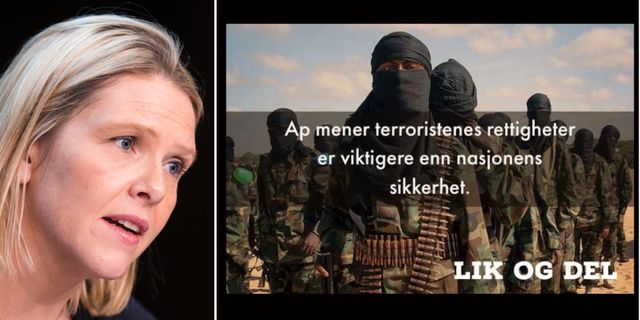 Sylvi Listhaug. TT