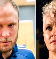 Andreas Granqvist och Nilla Fischer. Bildbyrån