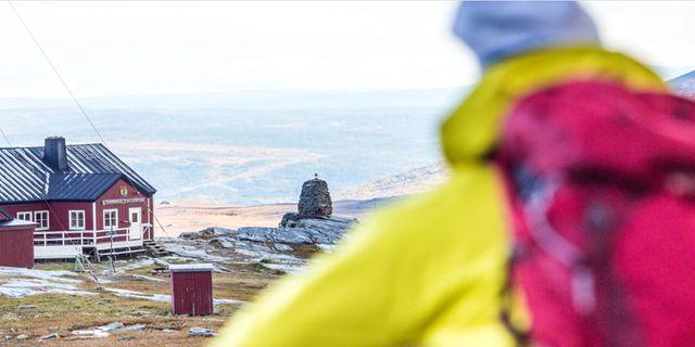 Blåhammarens fjällstation är en av höjdpunkterna  längs Jämtlandstriangeln.  Svenska Turistföreningen