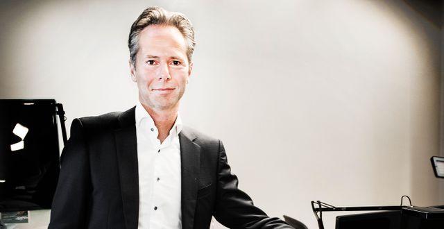 Martin Carlesund, vd för onlinekasinobolaget Evolution. Tomas Oneborg/SvD/TT / TT NYHETSBYRÅN
