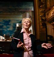 Birgitta Svendén, vd och konstnärlig ledare för Kungliga Operan. Anders Wiklund/TT / TT NYHETSBYRÅN