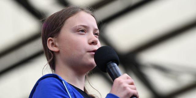 Greta Thunberg. Arkivbild. JONATHAN NACKSTRAND / AFP