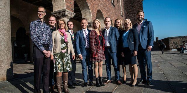 Grönblått styre i staden. Malin Hoelstad/SvD/TT / TT NYHETSBYRÅN