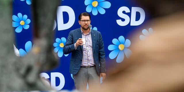 Jimmies Åkesson (SD). Johan Nilsson/TT / TT NYHETSBYRÅN