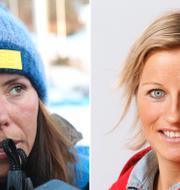 Charlotte Kalla och Vibeke Skofterud. Terje Bendiksby/NTB scanpix/TT/Andreas Hillergren/TT