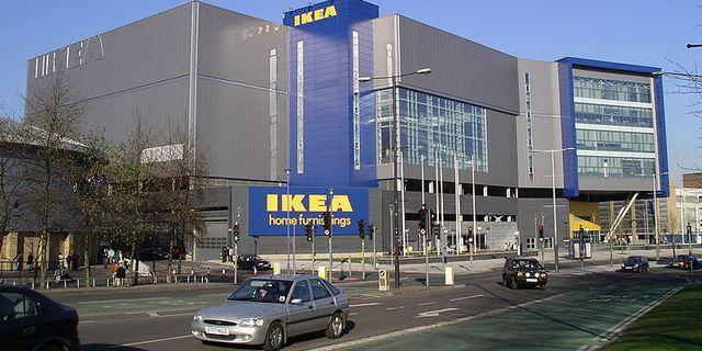 Ikeas varuhus i Coventry Wikimedia Commons