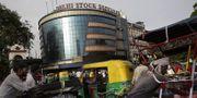 Börsen i New Delhi i Indien. Arkivbild. TT