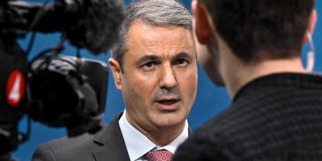Arkivbild: Näringsminister Ibrahim Baylan (S) Claudio Bresciani/TT / TT NYHETSBYRÅN