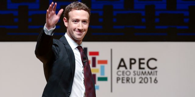 Arkivbild: Mark Zuckerberg. Esteban Felix / TT / NTB Scanpix