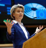 Ursula von der Leyen. Francisco Seco / TT NYHETSBYRÅN