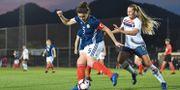 Träningsmatch mellan Norge och Skottland.  VALERIAWITTERS / BILDBYR N