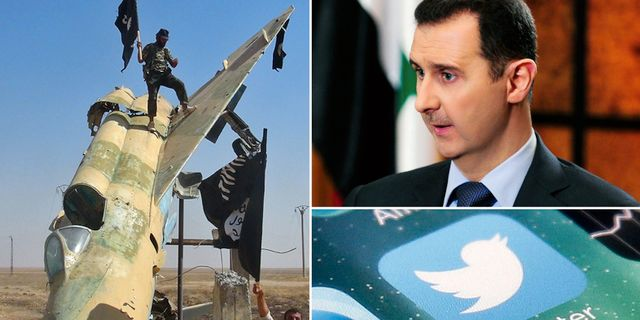 Syriens president Bashar al-Assad. TT