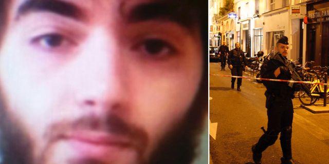 Khamzat Azimov/polisen arbetar efter attacken i centrala Paris.