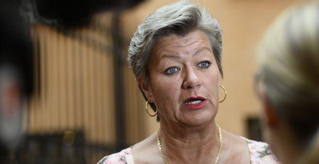 Arbetsmarknads- och etableringsminister Ylva Johansson. Arkivbild. Izabelle Nordfjell/TT / TT NYHETSBYRÅN