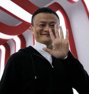 Arkivbild: Alibabas grundare Jack Ma.  Kin Cheung / TT NYHETSBYRÅN/ NTB Scanpix