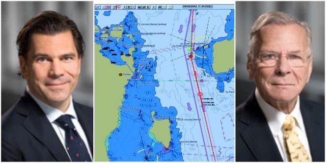 Carl Adam, digitalt sjökort från Consilium, Carl. Consilium