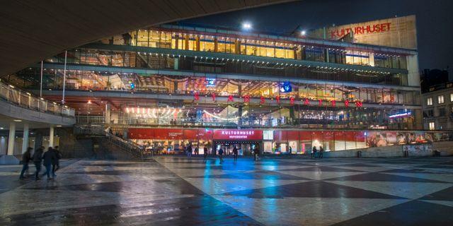 Kulturhuset Stadsteatern i Stockholm.  Staffan Löwstedt/SvD/TT / TT NYHETSBYRÅN