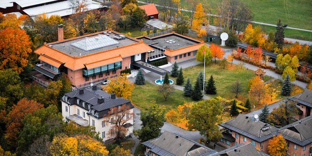 Kinas ambassad i Stockholm. Bertil Ericson / TT / TT NYHETSBYRÅN