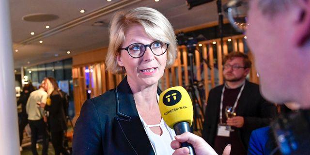 Elisabeth Svantesson. Stina Stjernkvist/TT / TT NYHETSBYRÅN