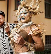 Petter Wallenberg och Rainbow Riots India spelar på lördag på Stockholm Prides stora scen. Erik Simander/TT / TT NYHETSBYRÅN