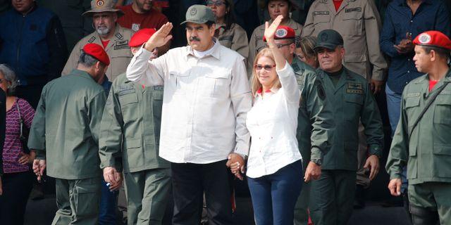 Nicolás Maduro. Ariana Cubillos / TT NYHETSBYRÅN/ NTB Scanpix