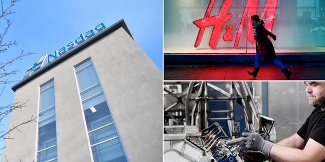 Börshuset, H&M och Swedol. TT, Swedol