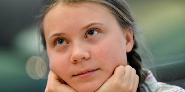 Greta Thunberg. TOBY MELVILLE / TT NYHETSBYRÅN