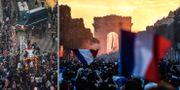 Bilder från Paris. TT