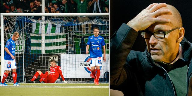 Åtvidabergsspelare under säsongen 2015 då klubben fortfarande låg i allsvenskan / Tor Arne-Fredheim TT