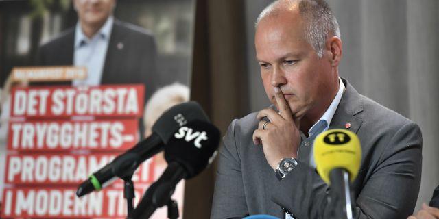 Morgan Johansson.  Jonas Ekströmer/TT / TT NYHETSBYRÅN