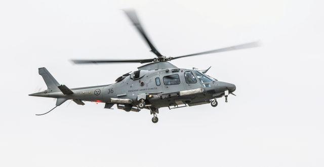 Helikopter från Försvarsmakten/Arkivbild.  Lars Pehrson/SvD/TT / TT NYHETSBYRÅN